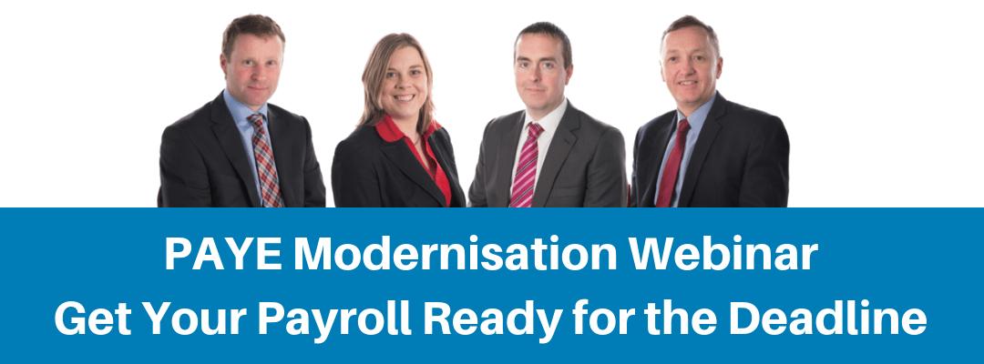 PAYE Modernisation Webinar Get Your Payroll Ready for the Deadline