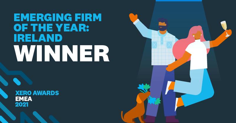 Xero Emerging Firm of the Year 2021 Winner