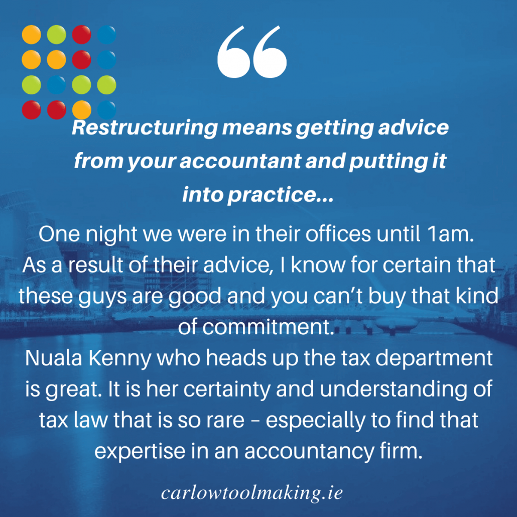 Business Restructuring Accountants