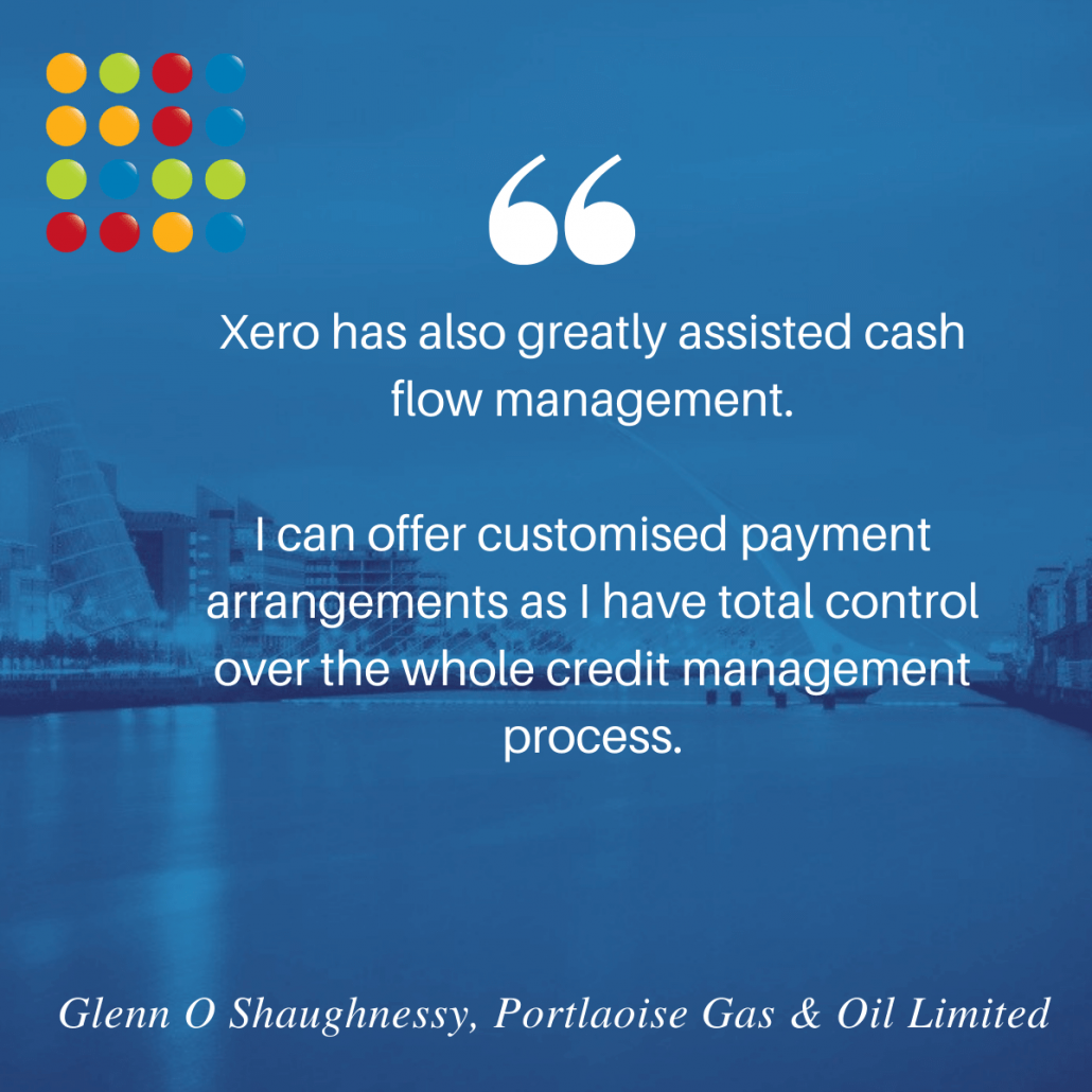 Xero cash flow