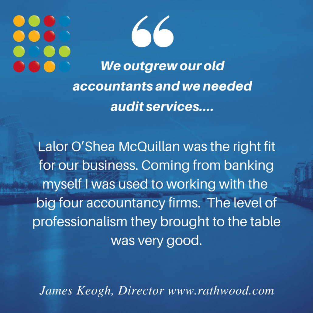 Lalor O'Shea McQuillan audit services